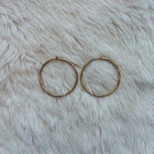 Vintage Gold Hoops